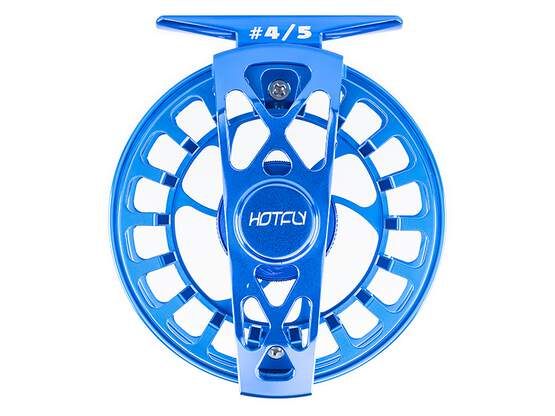 Fliegenrolle LIGHT SUPERB 900 - blau