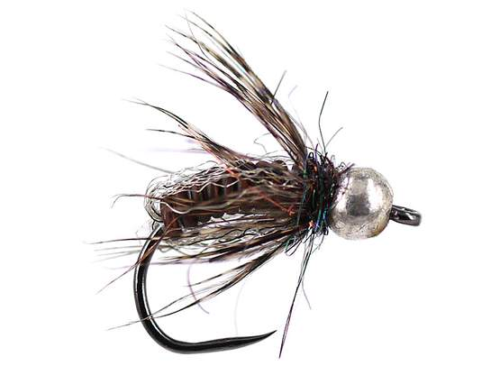 Brown Comp. Caddis Naturfil Pupa TG BL