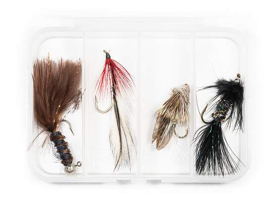 Set STREAMER CLASSIC V1 - 4 Fliegen mit Box