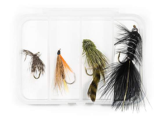 Set STREAMER CLASSIC V2 - 4 Fliegen mit Box