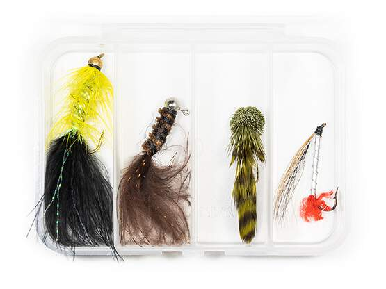 Set STREAMER CLASSIC V5 - 4 Fliegen mit Box
