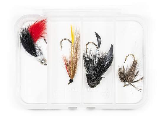 Set STREAMER CLASSIC V7 - 4 Fliegen mit Box
