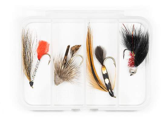 Set STREAMER CLASSIC V9 - 4 Fliegen mit Box