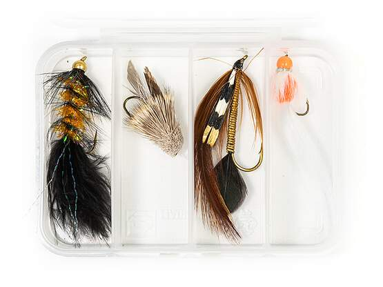 Set STREAMER CLASSIC V12 - 4 Fliegen mit Box