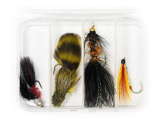 Set STREAMER CLASSIC V14 - 4 Fliegen mit Box