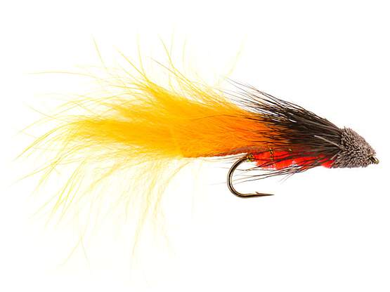 Orange Bunny Tail Muddler