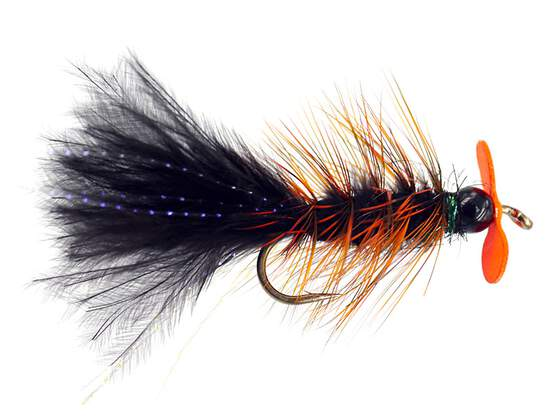 Black Hot Wooly Bugger Evo