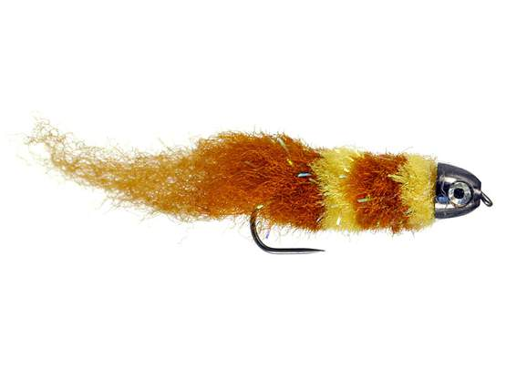 Smothy Baitfish Brown Yellow