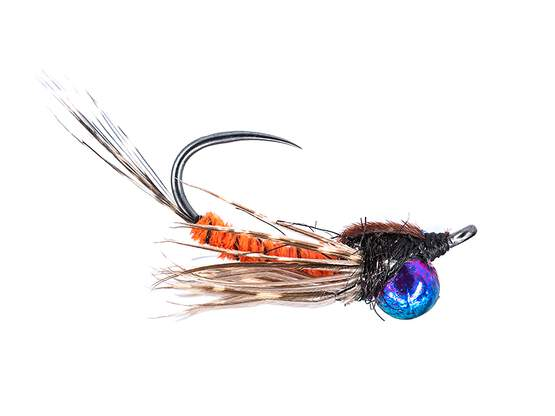 Classic Jig Off Mayfly Nymph TG BL Red