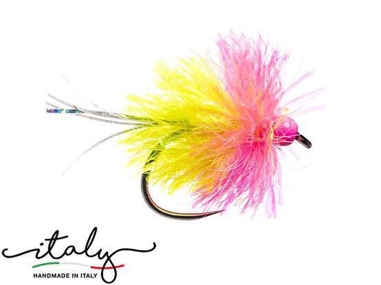 BH Blob Bicolor Fluo Pink Yellow BL