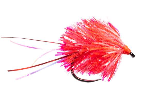 Blob Mix Fluo Red White BL