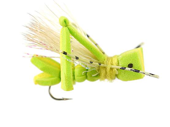 Super Chartreuse Foam Hopper  10